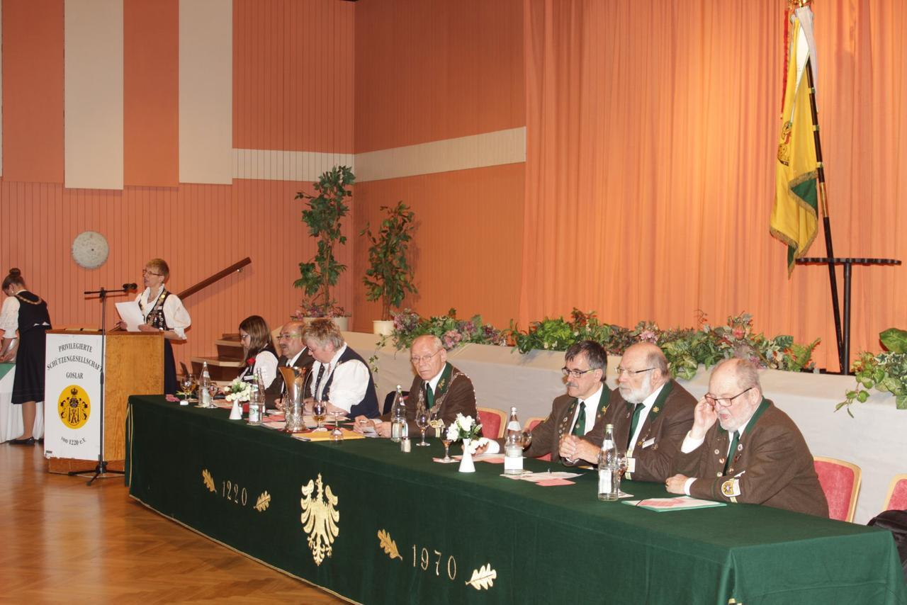 Privilegierte Schützengesellschaft von 1220 hatte Generalversammlung