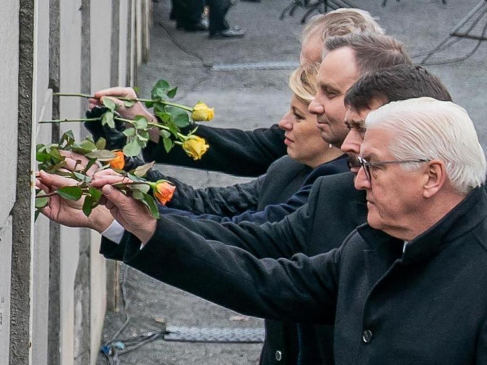 Gedenkfeier zum Mauerfall