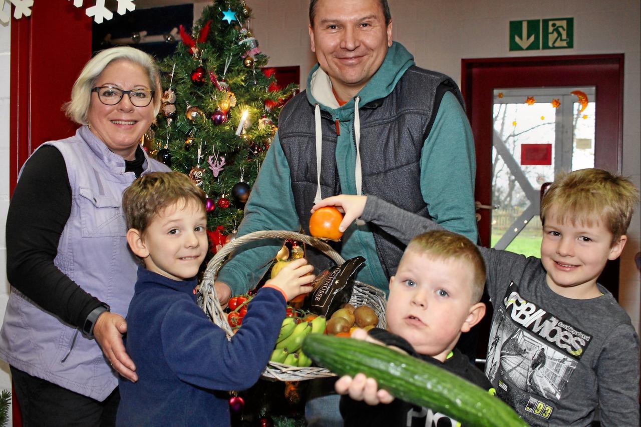 Kinder für Obst und Gemüse begeistern