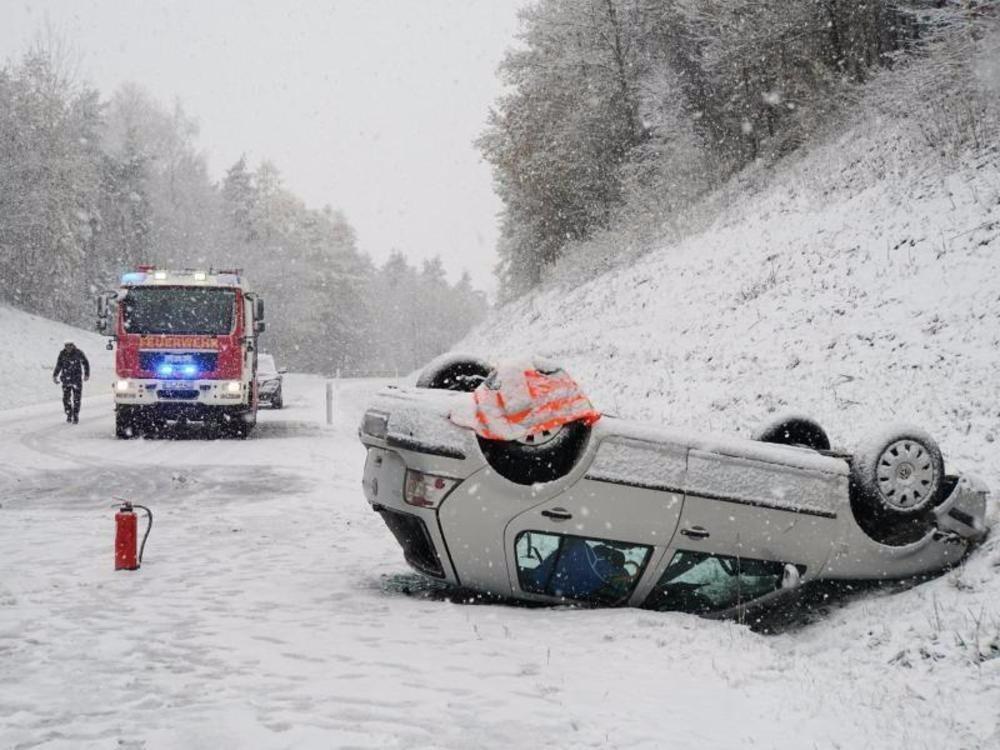 Verletzte bei Unfällen
