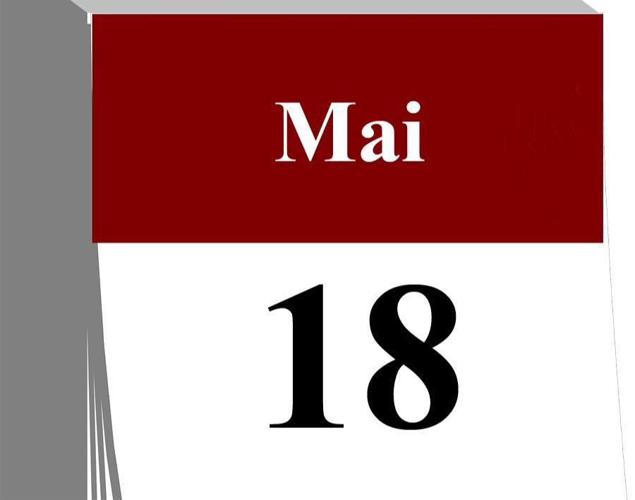 Der 18. Mai...