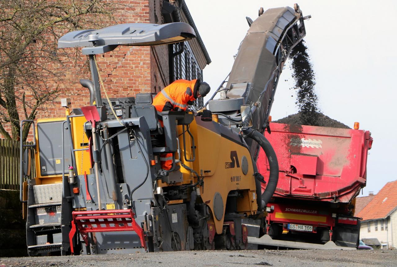 Straßenbaustellen-Saison beginnt