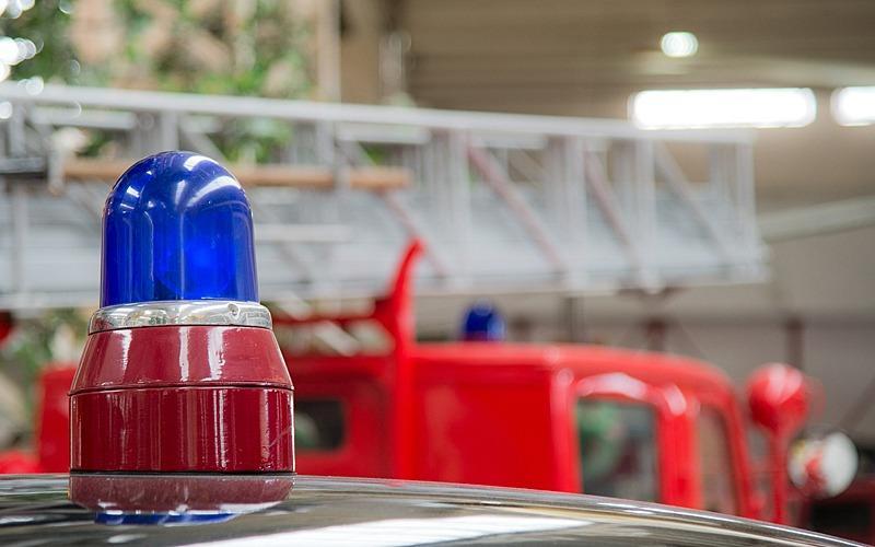 Kollision mit Feuerwehrfahrzeug