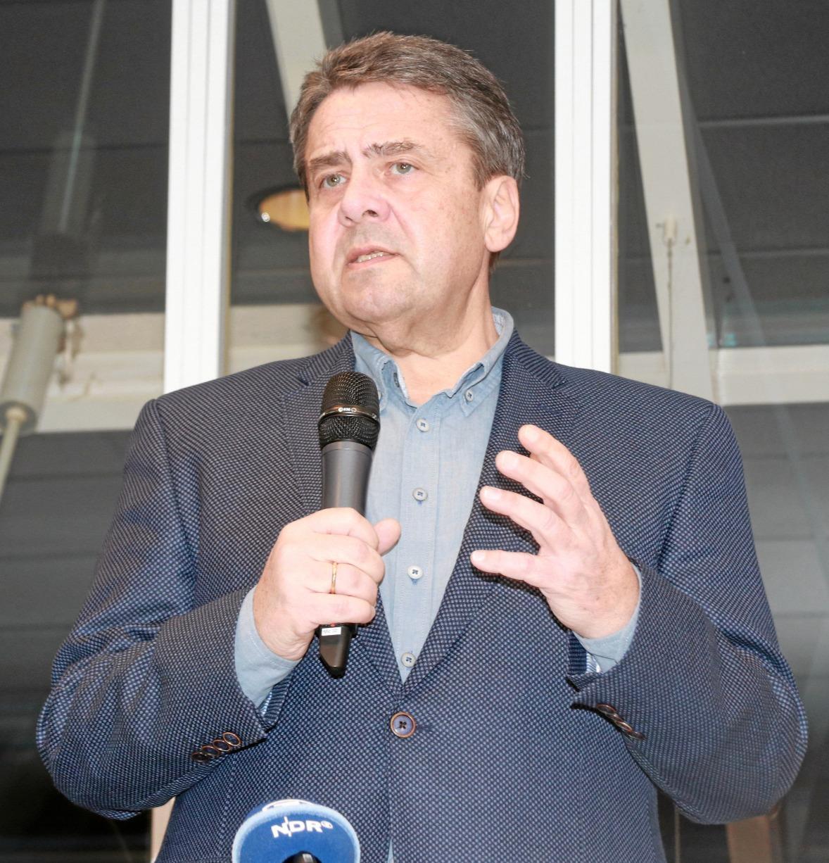 Gabriel wird am 21. September Ehrenbürger