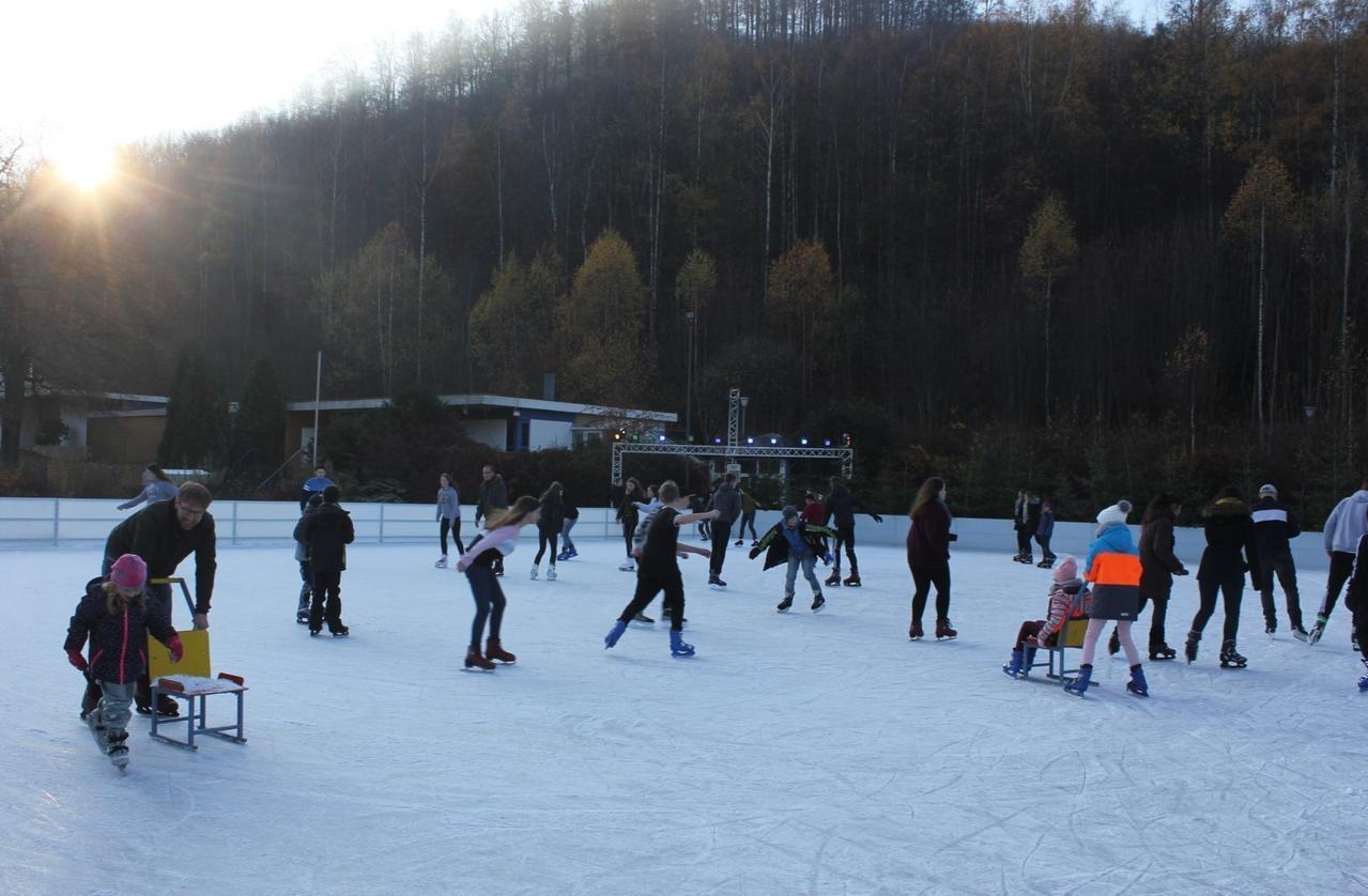 Eisbahn noch bis zum 24. Februar geöffnet