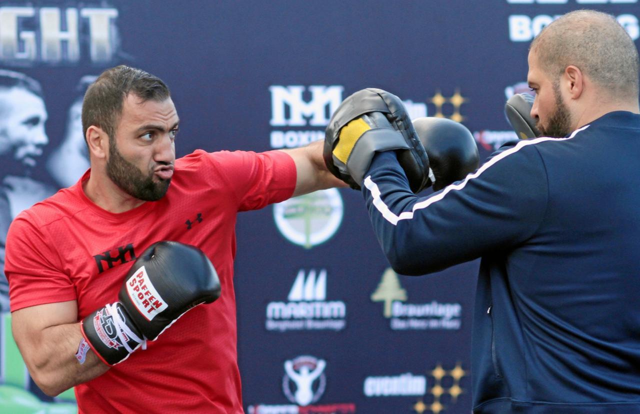 Boxer Hovhannisyan fühlt sich stark wie nie