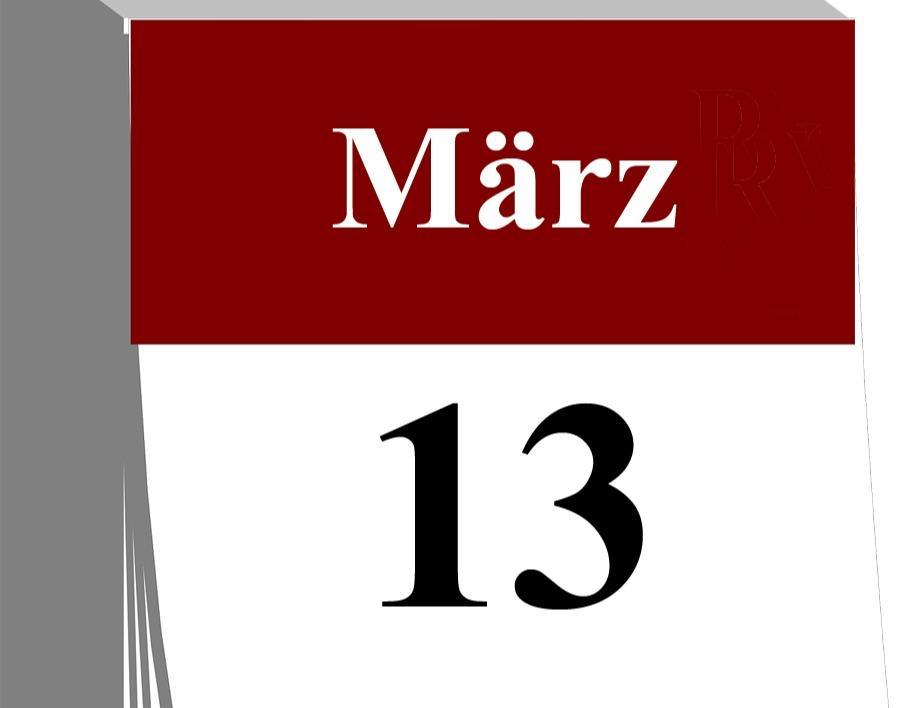 Der 13. März...