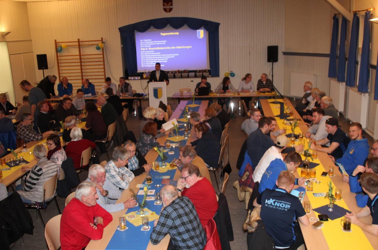 80 Mitglieder und Gäste bei der Versammlung