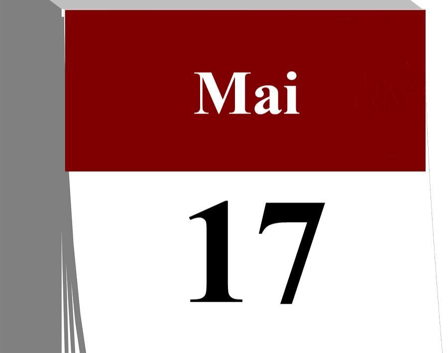 Der 17. Mai...