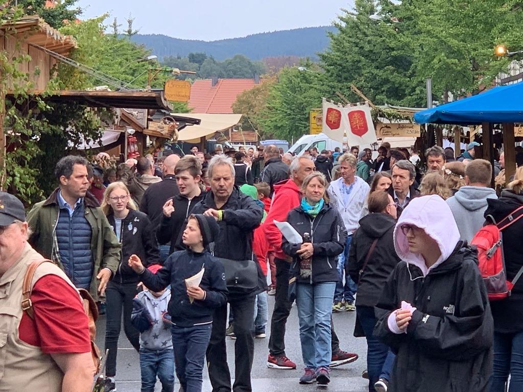 Sehusa-Fest zieht auch bei grauem Himmel