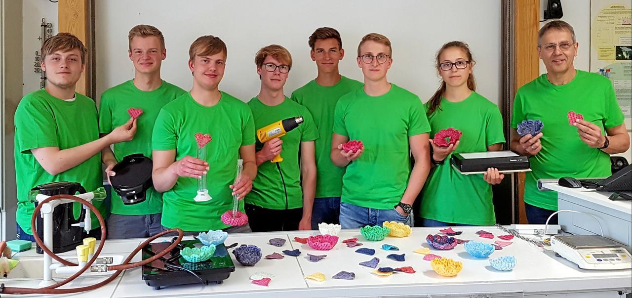 Oberharzer Gymnasiasten auf der Ideen-Expo