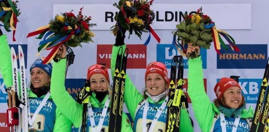 Triumph für deutsche Damen
