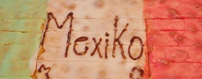 Heute zum Mexiko-Trommeln