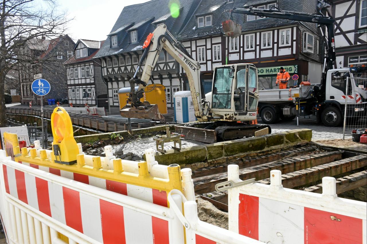 Steinbogenbrücke wird wieder schön