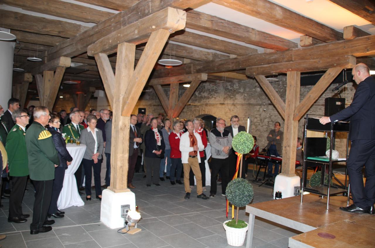 Über 300 Gäste waren beim Neujahrsempfang