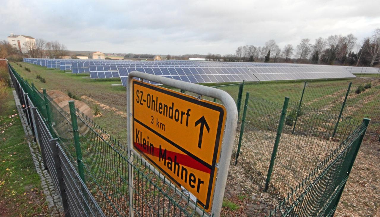 Klage gegen Photovoltaikpläne