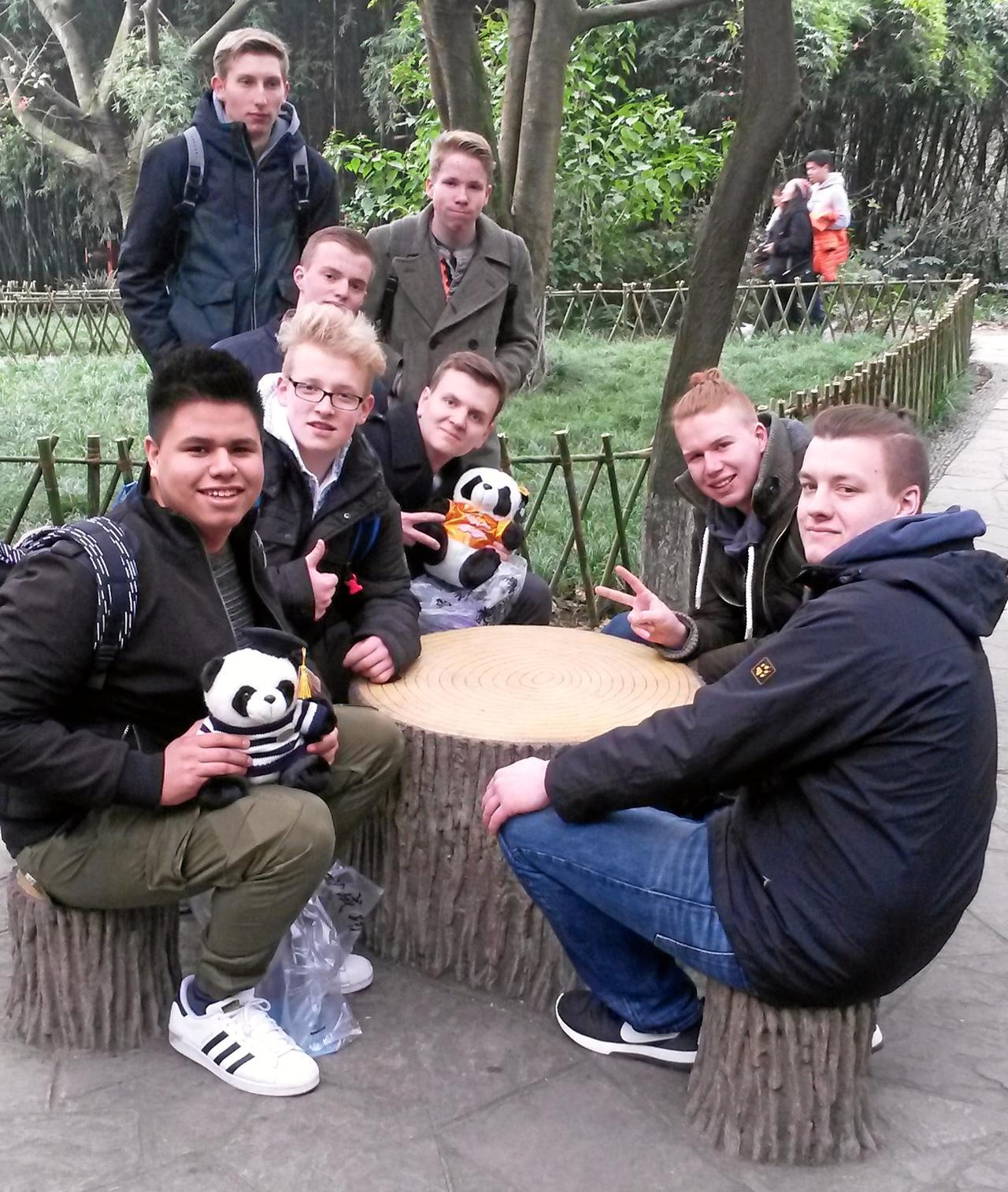 Schüler reisen nach China