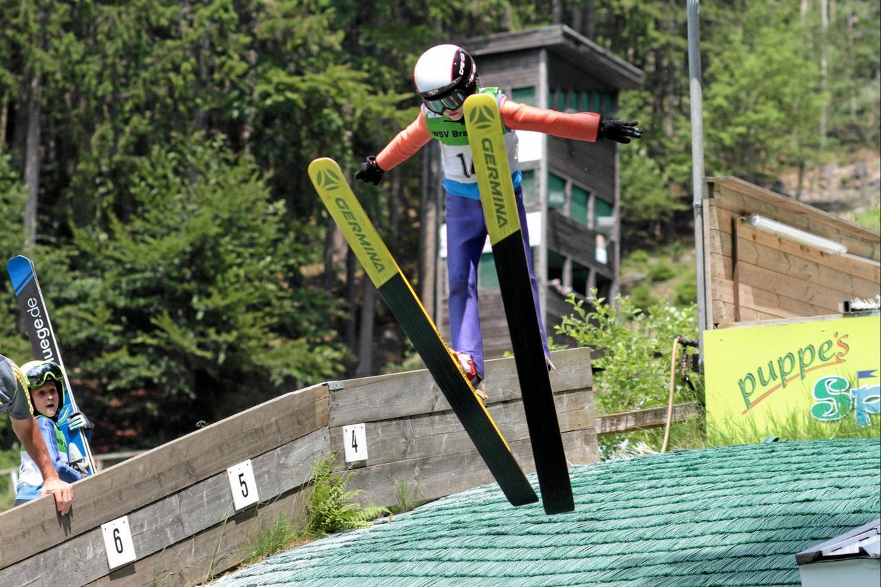 Skispringer in Braunlage zu Gast