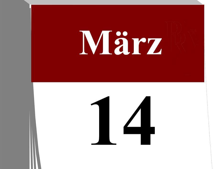 Der 14. März...