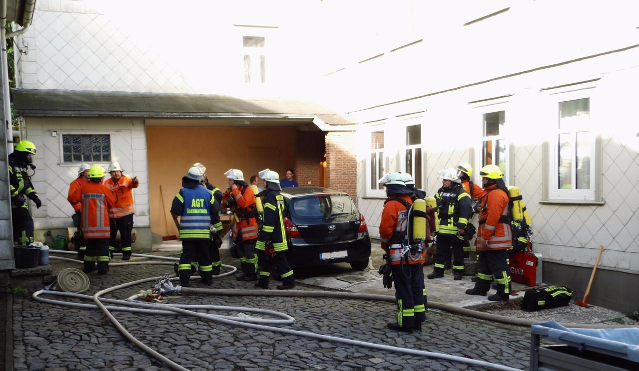 Brandeinsatz in der Seilerstraße