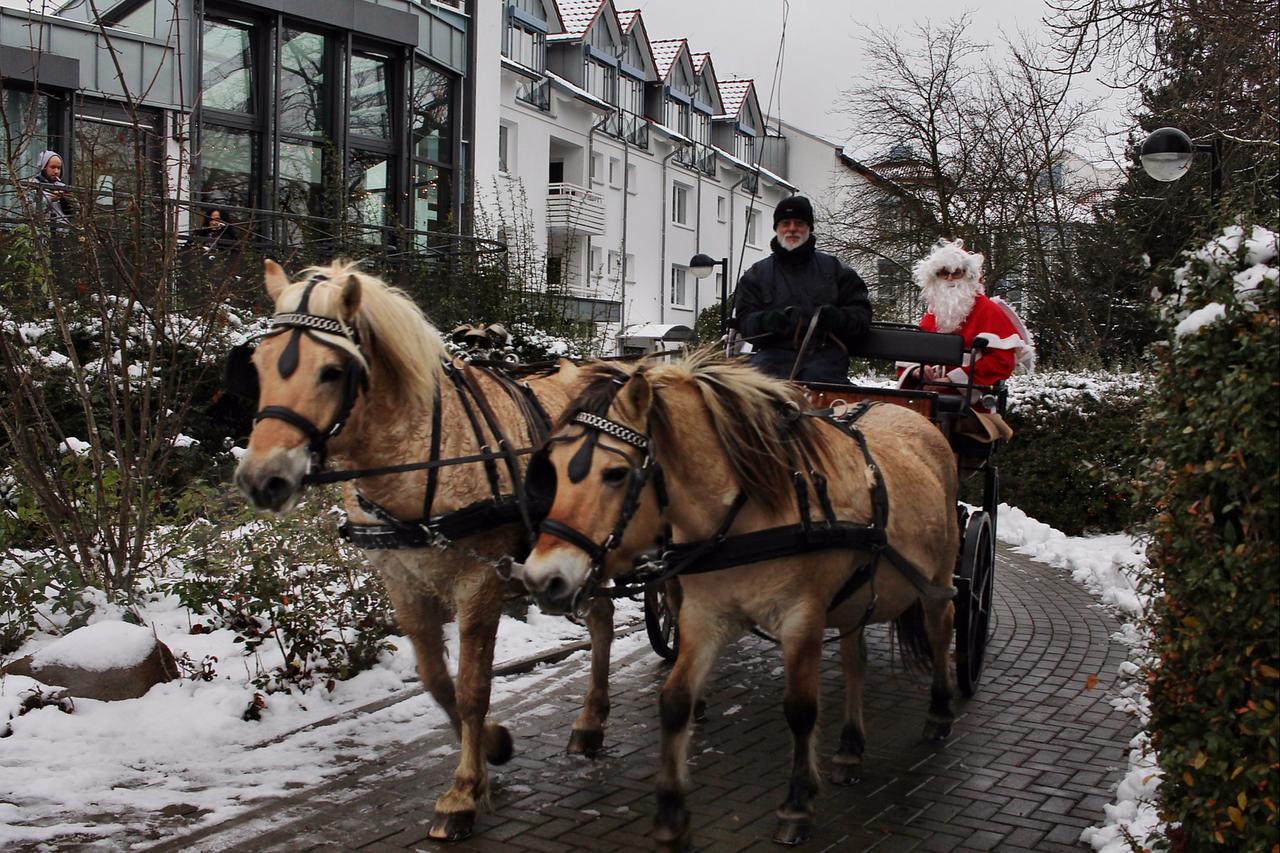 Weihnachtsmann in Liebenburg gesichtet