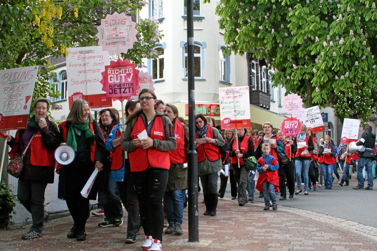 Streik geht weiter | Bad Harzburg | GZ Live