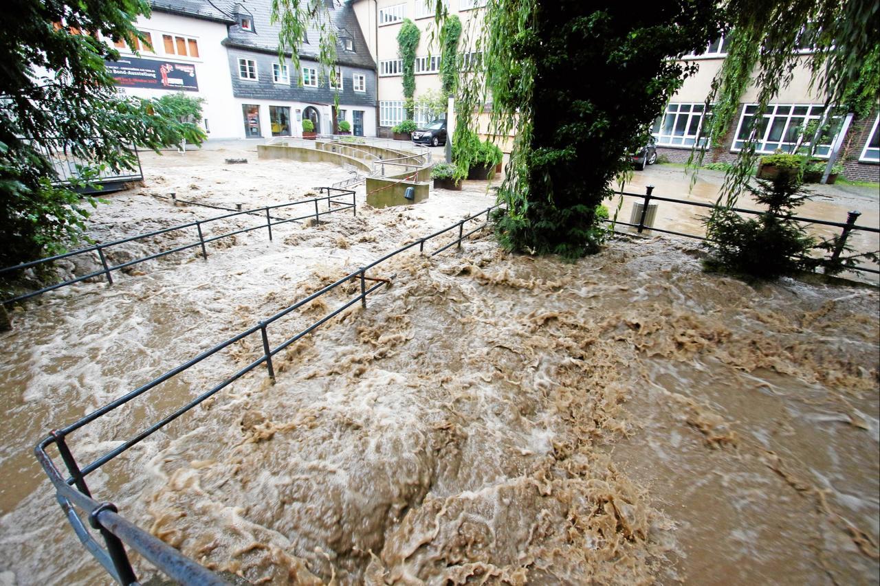 Stadt plant riesigen Hochwasser-Tunnel
