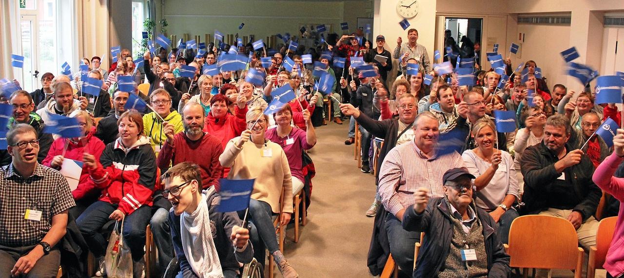 170 Delegierte der Lebenshilfe tagen in der Bergstadt