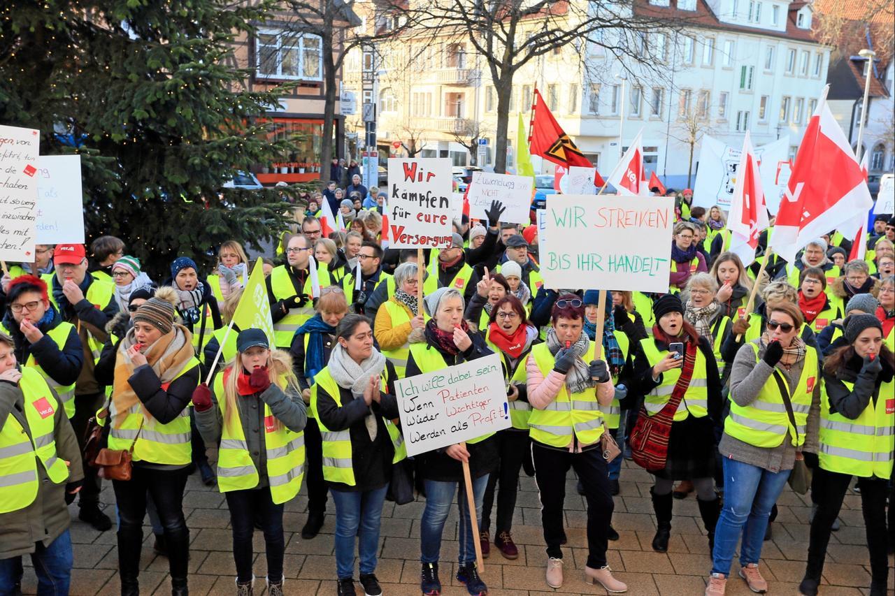 Asklepios: Verdi kündigt neue Streiks an