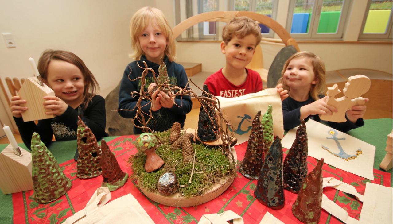 Trinitatis-Kindergarten lädt zu Adventsfest