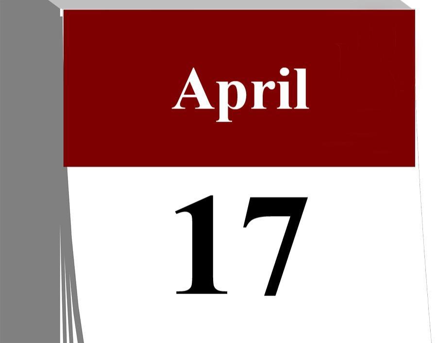 Der 17. April...