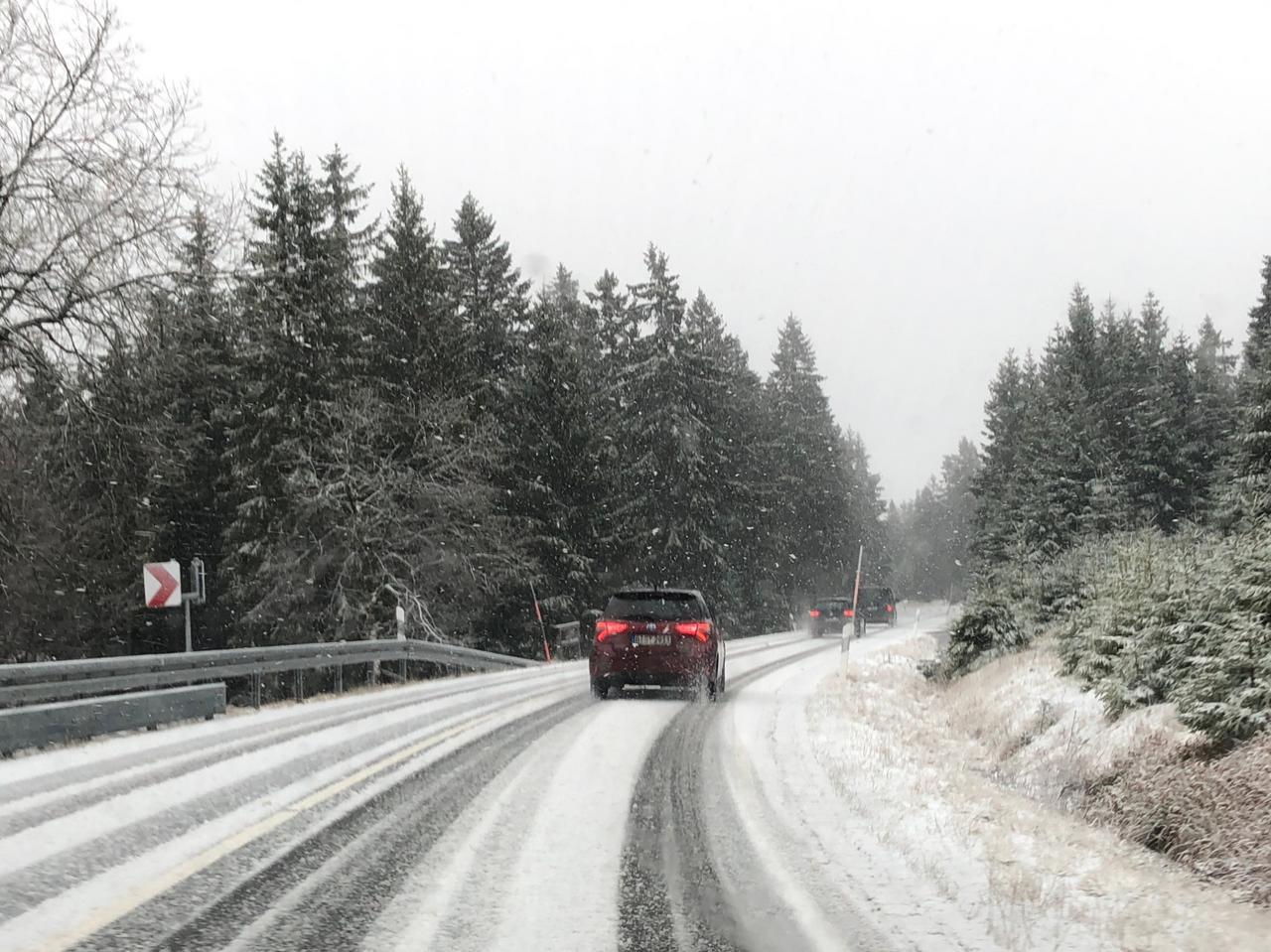 Nach dem Sturm kommt der Schnee