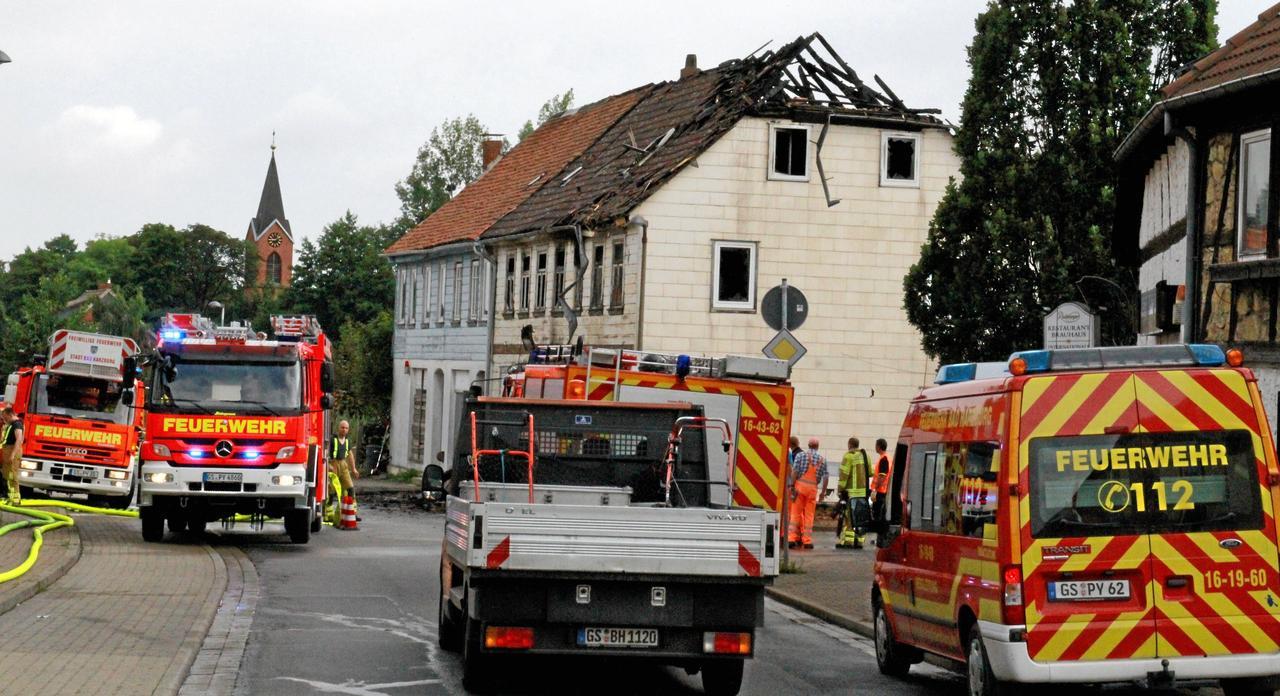 Feuerwehrmann gesteht Serie von Brandstiftungen