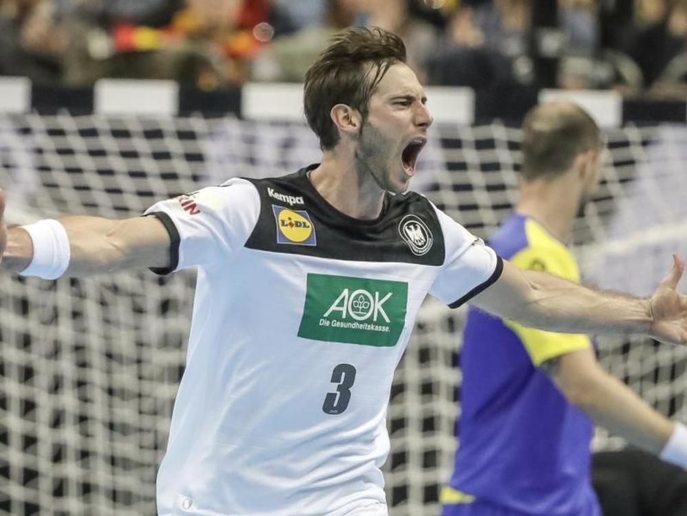 Handballer heute gegen Russland gefordert