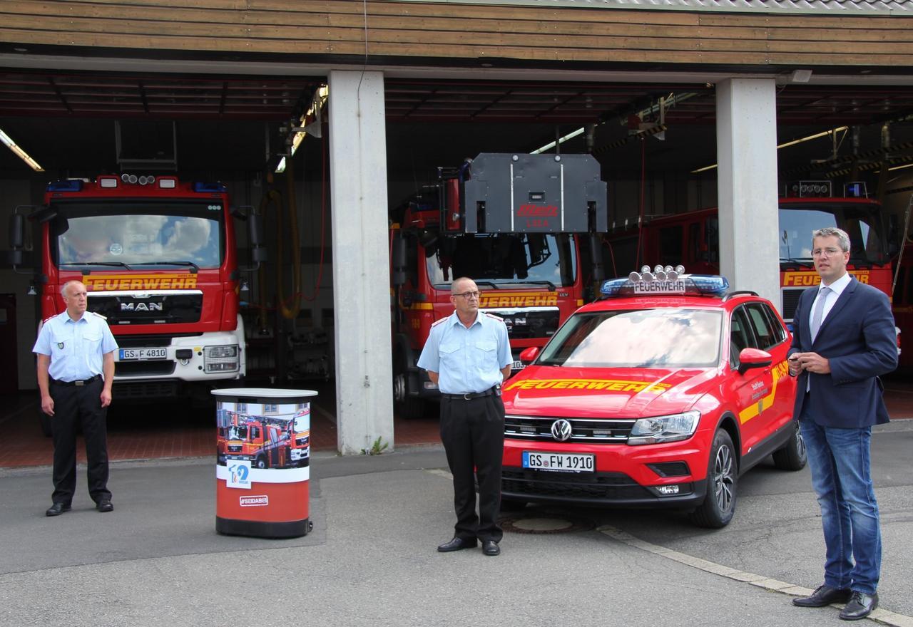 Neuer Kommandowagen für den Brandmeister