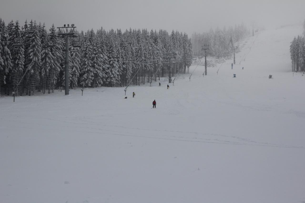Schnee, der die Gäste nicht locken soll