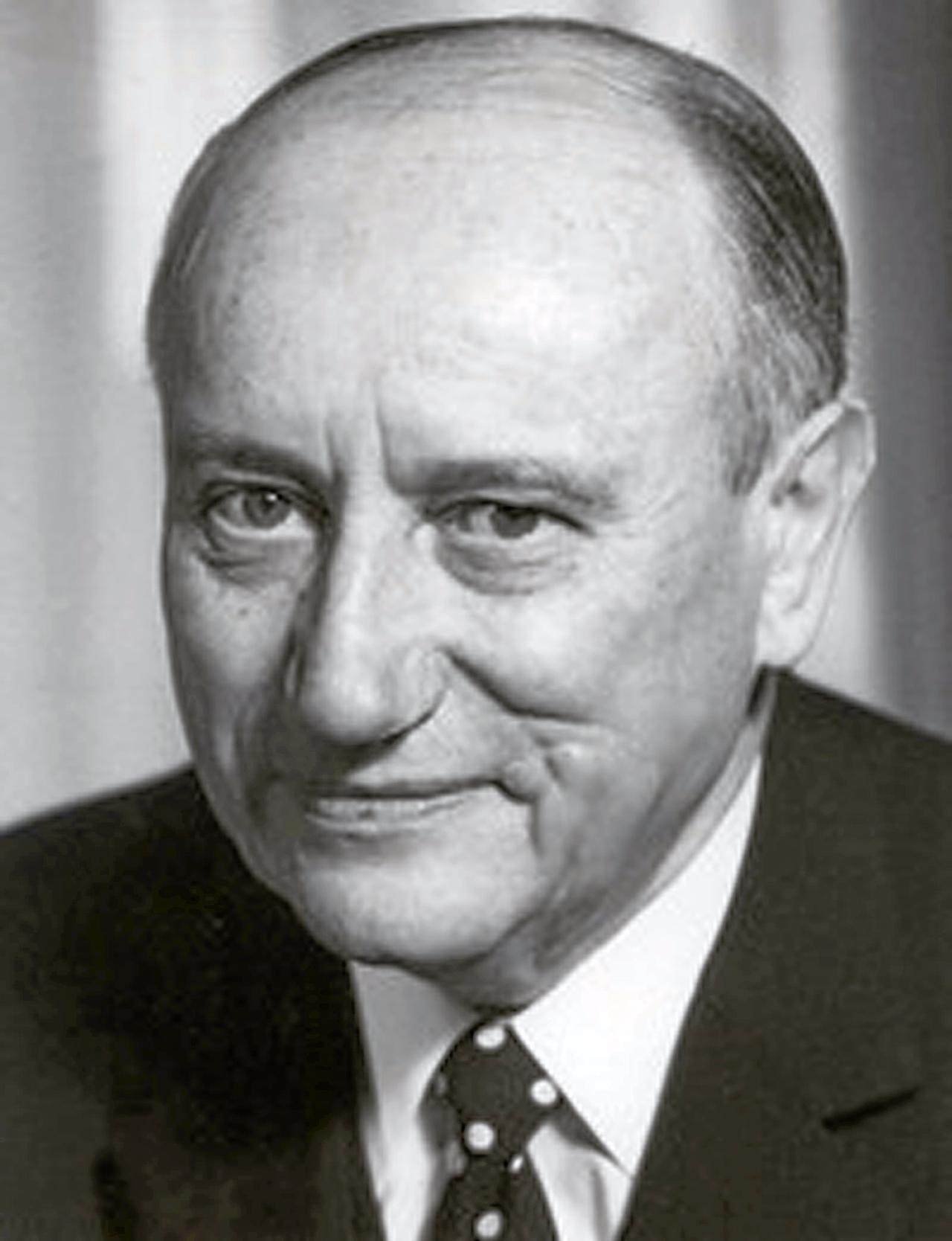 Georg Diederichs - der erste GroKo-Chef