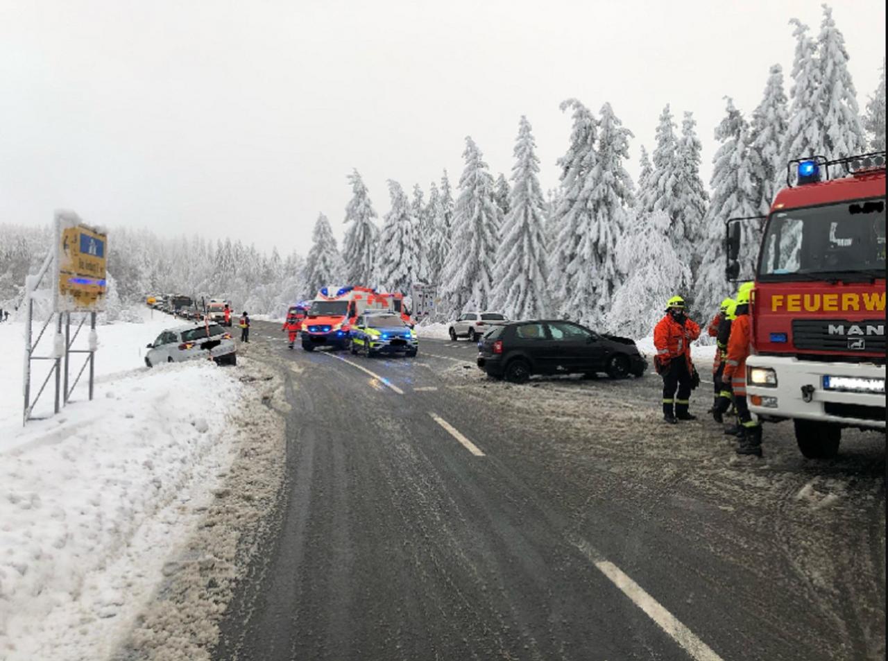 5 Verletzte nach Unfall bei Torfhaus
