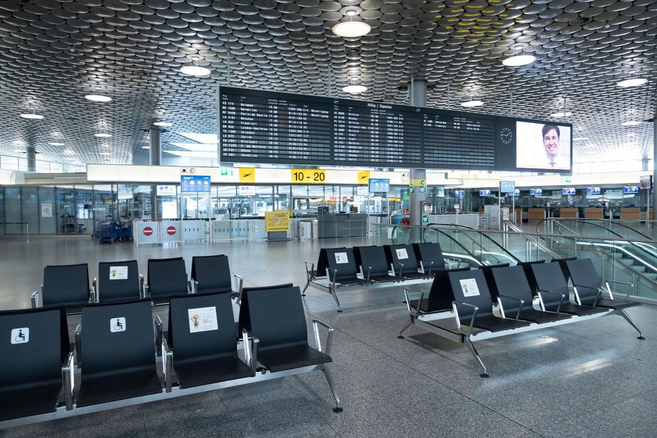 Deutlich weniger Flugreisende in Hannover