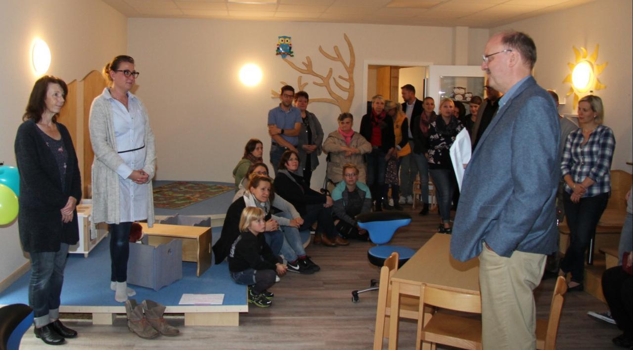 Kindergartenanbau eingeweiht