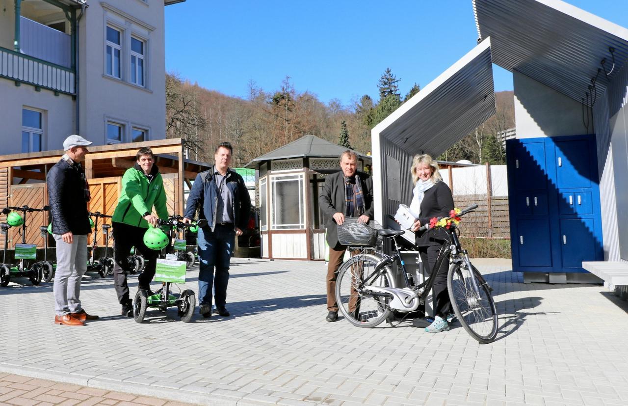 Kostenlos E-Bike-Akkus laden