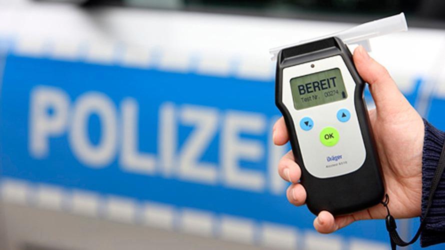 Polizei stoppt Alkoholfahrten