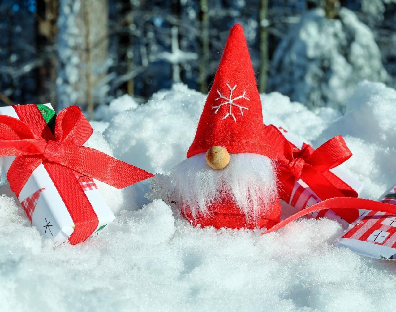 Dem Nikolaus auf Torfhaus auf der Spur