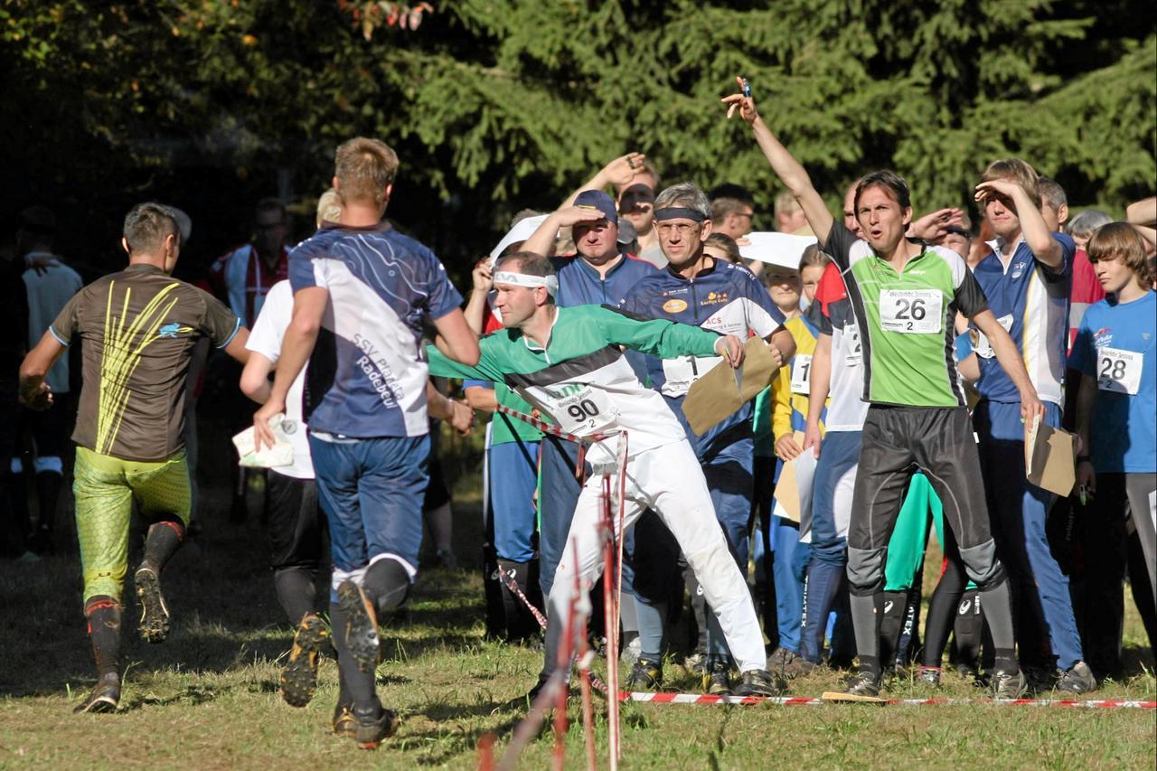 Orientierungsläufer kommen nach Altenau