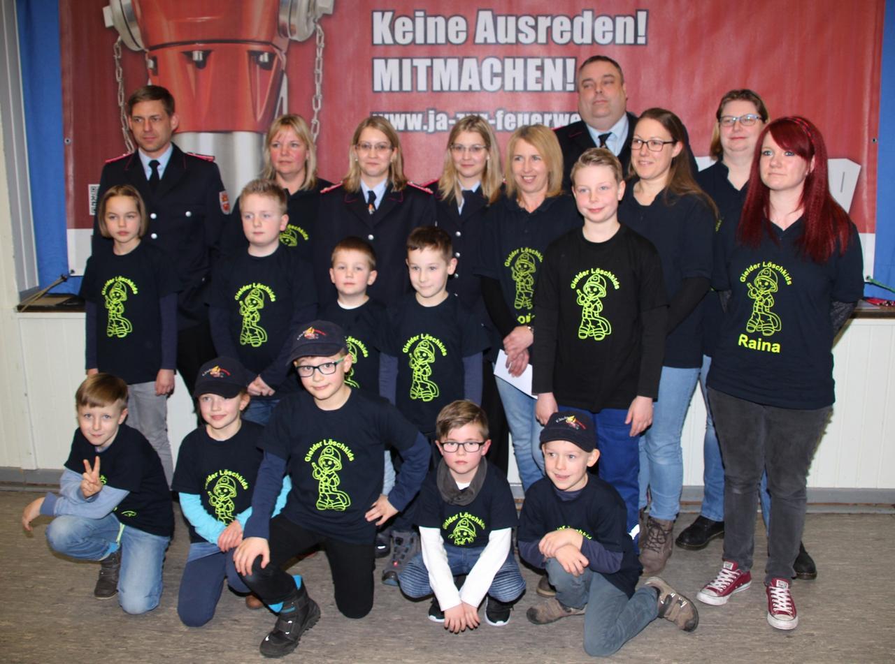 Kinderfeuerwehr hat 18 Mitglieder