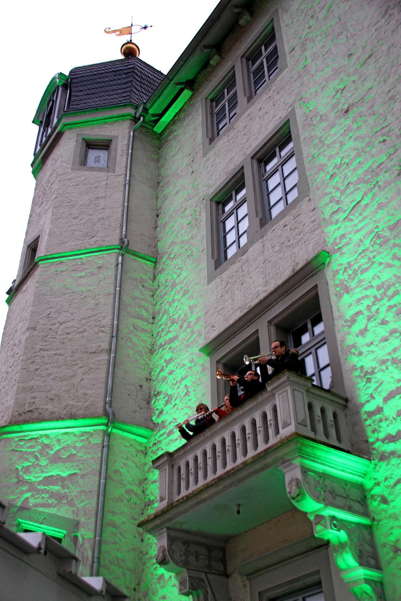 Weihnachtszeit an der Burg Sehusa