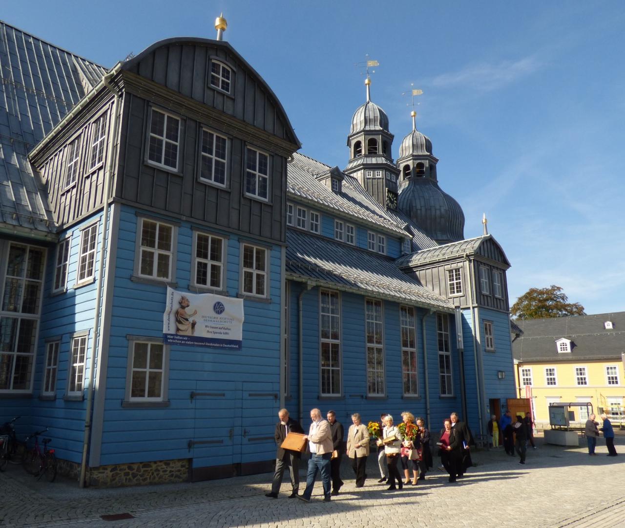 Auszug aus der Marktkirche