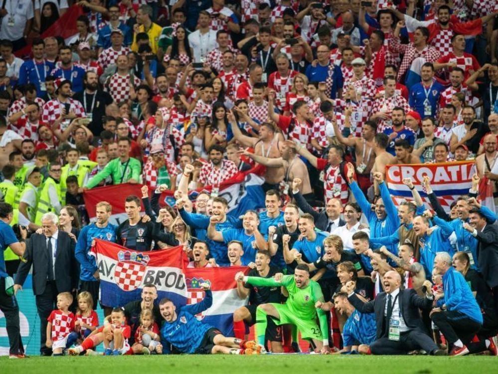 Ein ganzes Land im Fußballrausch