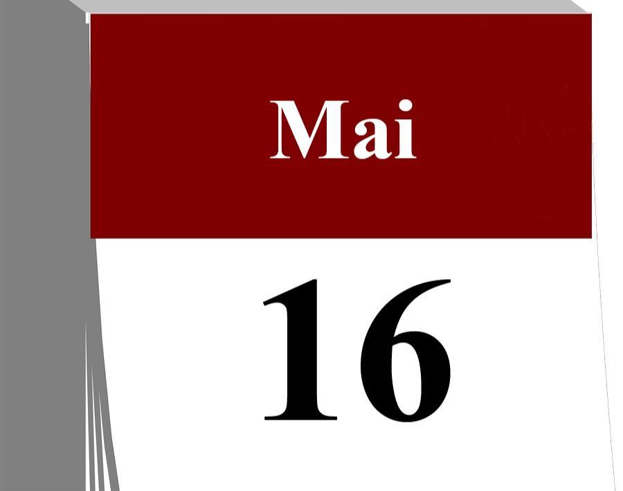 Der 16. Mai...