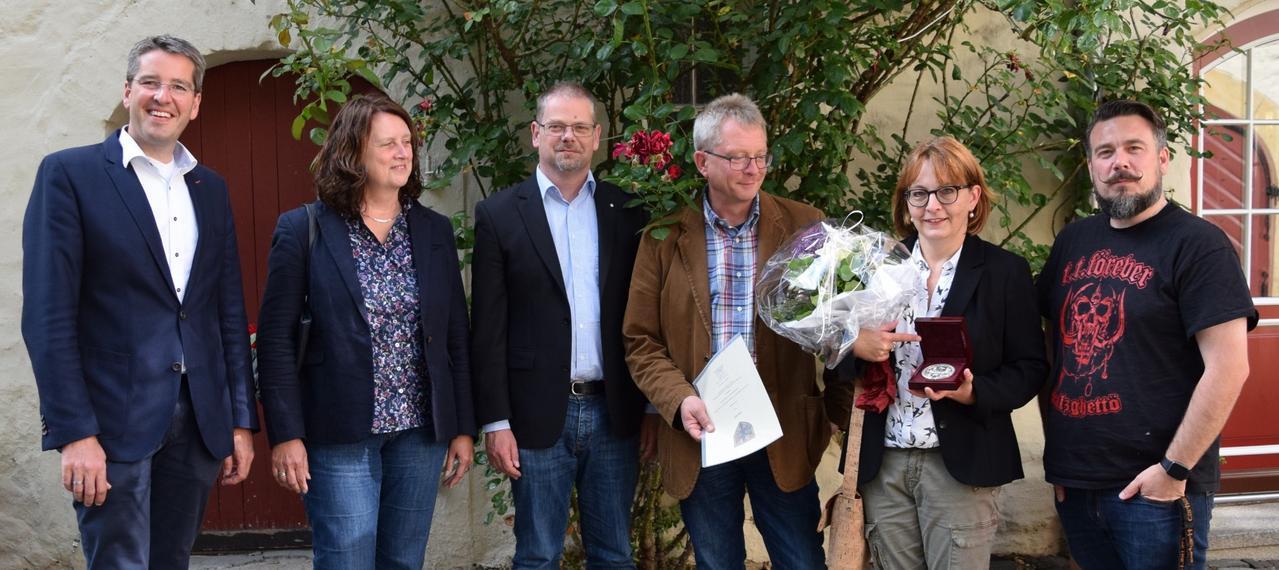 Goslars Ehrenplakette für Karen Haase